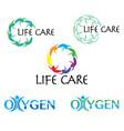 life logo vector image