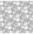 messy scribble hand drawn seamless pattern vector image