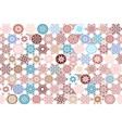 seamless ceramic tile with colorful patchwork vector image vector image