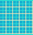 seamless pattern of tiles with blue squares vector image