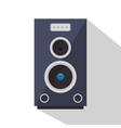 speaker sound device icon vector image vector image