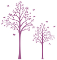 Tree with birds wall decal vector | Price: 1 Credit (USD $1)