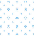 beautiful icons pattern seamless white background vector image vector image
