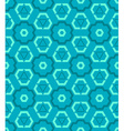 cyan blue green color abstract geometric seamless vector image vector image