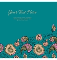 Design template greeting card with place for your vector image vector image