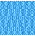Light blue waves japanese pattern vector image vector image