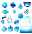 Water Symbol Big Set vector image vector image