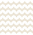 abstract white and gold seamless srtipes pattern vector image vector image