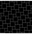 black tiles seamless pattern vector image