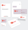 Business Stationery Template vector image vector image