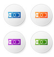 color fast payments icon isolated on white vector image vector image