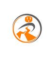 electric repair logo design template vector image