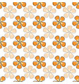 faded flowers seamless repeat pattern vector image vector image