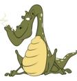 Green dragon Cartoon vector image vector image