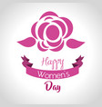 International women day card icon