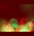 red and green lights on red background vector image vector image