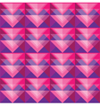 Seamless berry triangle pattern design vector image