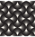 seamless black and white arc lines grid