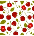Seamless pattern of hand-drawing various juicy vector image vector image