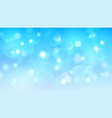 abstract bokeh background vector image vector image