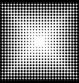 abstract pattern with dots modern black and white vector image vector image