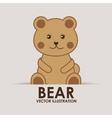 bear teddy vector image vector image