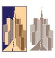 business Center vector image