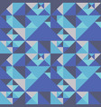 geometric abstract pattern with triangles vector image vector image