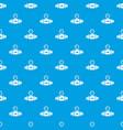 pressure sensor pattern seamless blue vector image