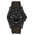 sports waterproof wristwatch vector image