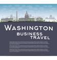 Washington dc vector image vector image
