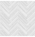 White Herringbone Parquet Floor Seamless Pattern vector image vector image