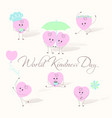 world day of kindness vector image