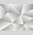 abstract light geometric polygonal background vector image vector image