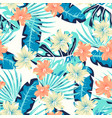 abstract tropical pattern vector image vector image