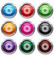 bearing set 9 collection vector image vector image