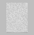 grey dot pattern brochure background - stationery vector image vector image
