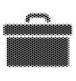 halftone dot toolbox icon vector image vector image