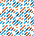 Seamless Pattern Overlap Diagonal Graphic Stripes vector image