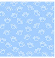spoor of dog wallpaper on blue background vector image vector image