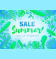 summer sale beautiful vector image vector image