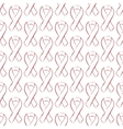 World AIDS day red ribbon seamless pattern vector image