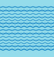 blue graphic waves pattern seamless vector image