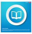 book mark icon vector image vector image