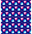 Colorful seamless pattern with red and blue vector image vector image