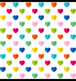 creative valentine day greeting card design vector image vector image
