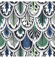 exotic feather pattern vector image