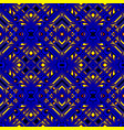 fiery blue seamless pattern vector image vector image