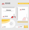 lungs logo calendar template cd cover diary and vector image vector image