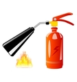 Tool for stewing of the fire vector image